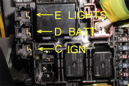 modifry products - freebies, security led s2000 fuse box location