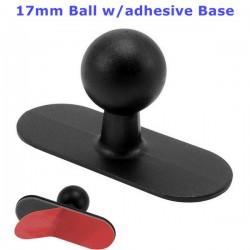 17mm Ball w/Adhesive Base