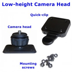 Low-Height Camera Head