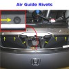 Air Guide Rivets