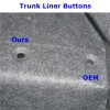 Trunk Liner Buttons