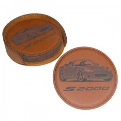 Leatherette Coaster Sets