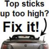 Convertible Top Fix