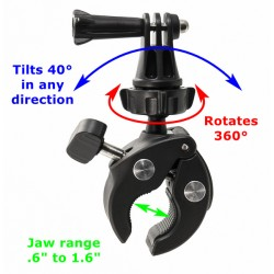 GoPro Clamp Mount