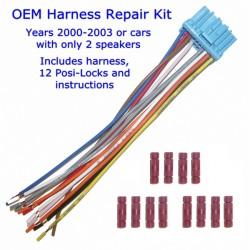 OEM Stereo Harness Repair Kit