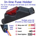Posi-Lock In-line Fuse Holder