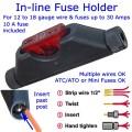 Posi-Lock In-line Fuse Holder